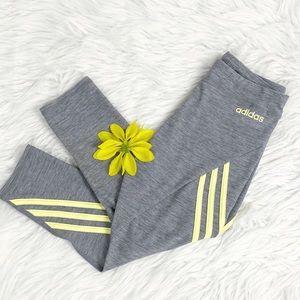 Adidas Girl's Capri Leggings Medium 10/12